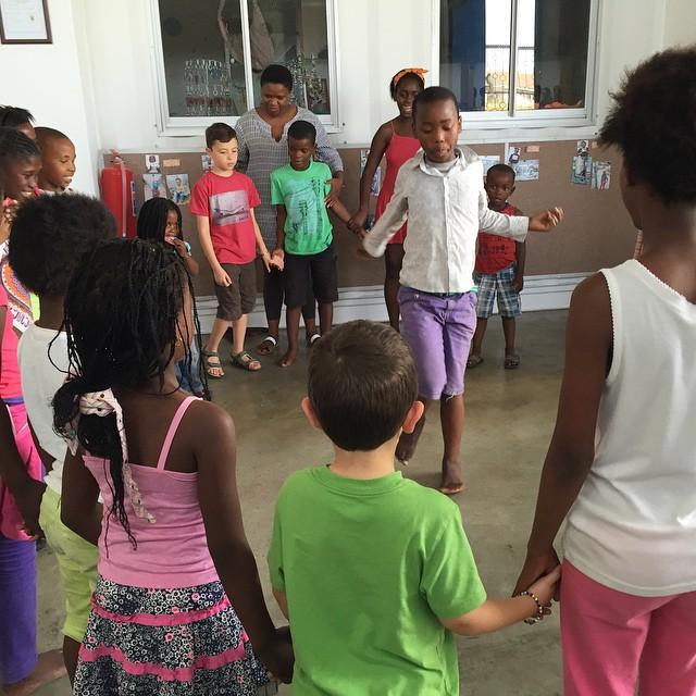 at eKhaya eKasi Art & Education Centre, Khayelitsha, South Africa.