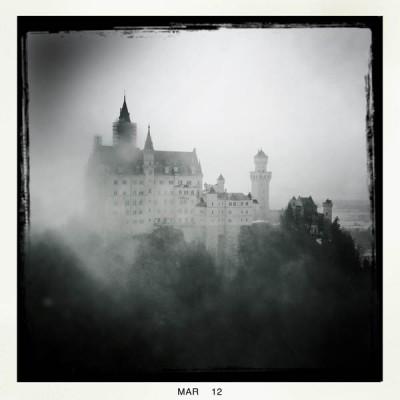 Neuschwanstein, the fairy tale castle in Bavaria
