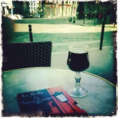 Vin Chaud in Montmartre district in Paris, France