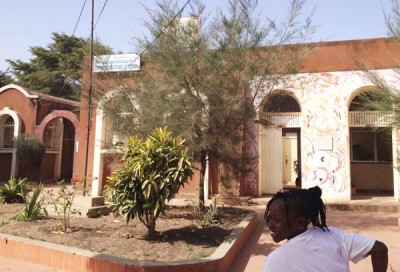 Derkle Cultural Centre, Dakar, Senegal.