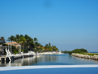 Hawks Cay canal view Duck Key, Floria