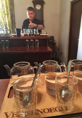 Coffee and Tea Blending at Vergenoegd