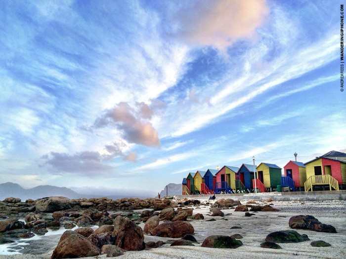 St. James Beach - Cape Town, South Africa.