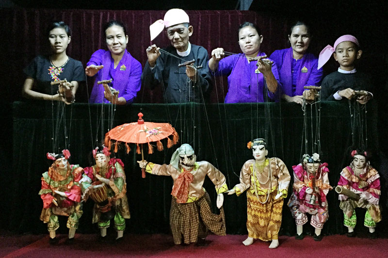 how would a group of puppeteers Puppeteers and their puppet stages and booths thus appear in paintings and   in india, puppets are used by a number of theatre groups and social welfare.