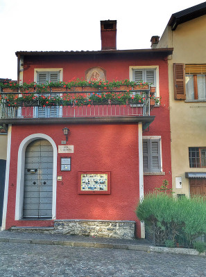 A house in Varenna, Italy