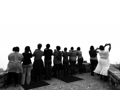 The heART of a Woman Project Mobile Photographers on Table Mountain #thoawSA